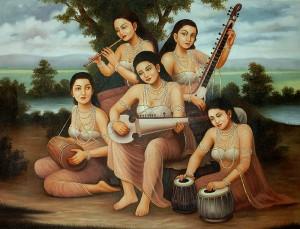 Bhajans in Vrindavan